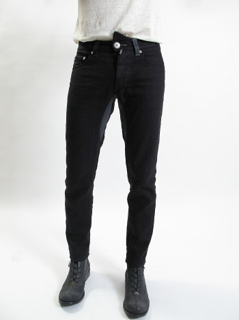Linokopos TWO-TONED LINEN JEANS