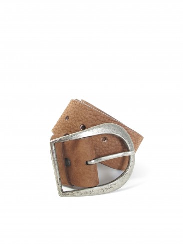 CENTURY PEBBLED LEATHER BELT