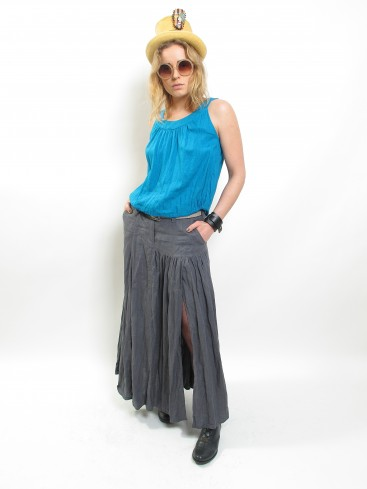 ARCHITECTURAL MAXI SKIRT